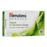 HIMALAYA HERBALS NEEM & TURMERIC SOAP 125.00 GM BAR