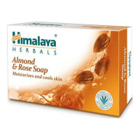 HIMALAYA ALMOND & ROSE SOAP 125.00 GM BAR