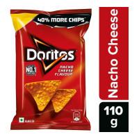 DORITOS NACHO CHEESE FLAVOUR CHIPS 110.00 GM