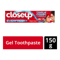 CLOSE-UP EVER FRESH RED HOT TOOTHPASTE 150.00 GM BOX