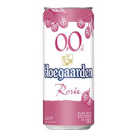 HOEGAARDEN ROSEE NON ALCOHOLIC BEER 330.00 ML CAN