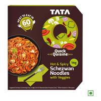 TATA Q HOT N SPICY SCHEZWAN NOODLES WITH VEGGIES 290.00 GM