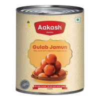 AAKASH GULAB JAMUN 1.00 KG TIN