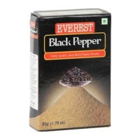 EVEREST BLACK PEPPER POWDER 50.00 GM BOX