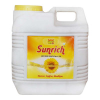 SUNRICH REFINED SUNFLOWER OIL 15 Ltr Jar