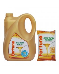 FORTUNE RICE BRAN  OIL 5.00 LTR JAR