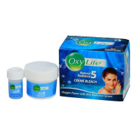 DABUR OXY LIFE 5 RADIANCE WOMEN BLEACH CREAM 9.00 GM BOX