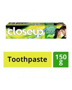 CLOSE-UP DEEP ACTION LEMON MINT TOOTHPASTE 150.00 GM BOX