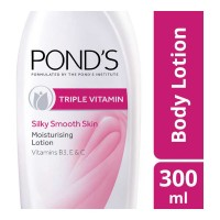 PONDS TRIPLE VITAMIN MOISTURISING LOTION 300.00 ML BOTTLE