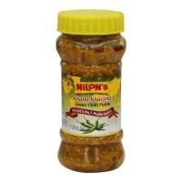 NILONS GREEN CHILLI PICKLE 250 Gm Jar