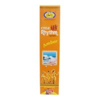 CYCLE RHYTHM AMBER AGARBATTI 120.00 GM PACKET