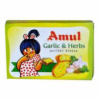 AMUL BUTTER GARLIC & HERBS 100.00 GM PACKET