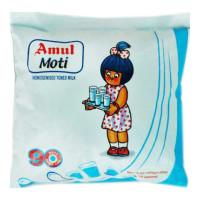 AMUL MOTI TONED MILK 500 ML POUCH