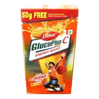 DABUR GLUCOPLUS-C ORANGE 250 GM