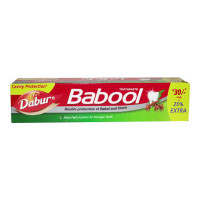 DABUR BABOOL TOOTHPASTE 100.00 GM BOX