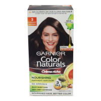 GARNIER COLOR NATURALS 3 DARKEST BROWN CREAM 67.50 ML BOX