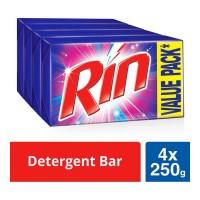 RIN DETERGENT BAR 4X 250.00 GM BAR