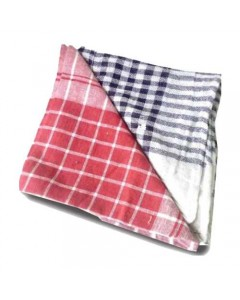 DUSTING CLOTH BLACK/RED CHECK SMALL