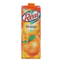 REAL ORANGE JUICE 1.00 LTR TETRAPACK