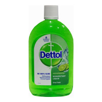 DETTOL DISINFECTANT LIQUID LIME FRESH 500.00 ML BOTTLE