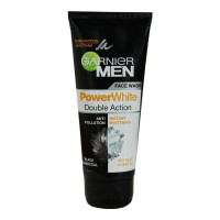 GARNIER MEN POWER WHITE DOUBLE ACTION FACE WASH 100.00 GM TUBE
