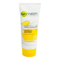 GARNIER WHITE COMPLETE  FAIRNESS FACE WASH 100.00 GM TUBE