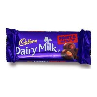 CADBURY DAIRY MILK FRUIT & NUT CHOCOLATE 36 GM PACKET