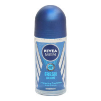 NIVEA MEN FRESH ACTIVE ROLL ON DEODORANT 50.00 ML BOTTLE