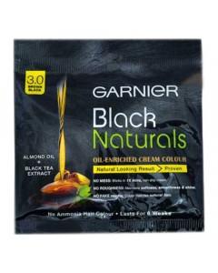 GARNIER BLACK NATURAL BROWN COLOUR 3.0 20 ML 20.00 GM PACKET
