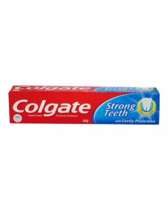COLGATE STRONG TEETH TOOTHPASTE 200.00 GM BOX