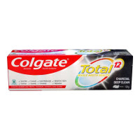COLGATE TOTAL CHARCOAL DEEP CLEAN TOOTHPASTE 120.00 GM BOX