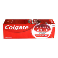 COLGATE VISIBLE WHITE TOOTHPASTE 100.00 GM BOX