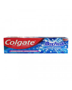 COLGATE MAXFRESH PEPPERMINT ICE TOOTHPASTE 150.00 GM BOX