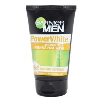 GARNIER MEN POWERWHITE FAIRNESS FACE WASH 100.00 GM TUBE