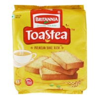 BRITANNIA TOASTEA PREMIUM BAKE RUSK 200.00 GM PACKET