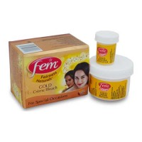 FEM GOLD BLEACH CREAM 24 GM