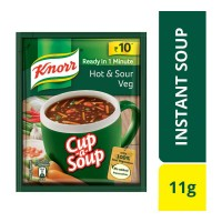 KNORR HOT & SOUR VEG SOUP 11.00 GM SACHET