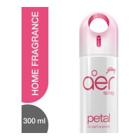 GODREJ AER SPRAY PETAL CRUSH PINK FRANRANCE 300.00 ML BOTTLE
