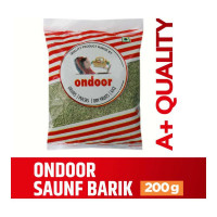 ONDOOR SAUNF BARIK PACKED 200.00 GM PACKET