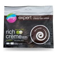 GODREJ EXPERT HAIR COLOR EXPERT BLACK BROWN 3.0 CREME HAIR COLOUR 20.00 GM SACHET