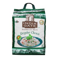 INDIA GATE REGULAR CHOICE RICE 10.00 KG BAG