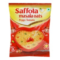 SAFFOLA MASALA OATS PEPPY TOMATO 39 GM PACKET