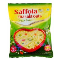 SAFFOLA MASALA OATS VEGGIE TWIST 39 GM PACKET