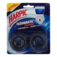 HARPIC FLUSHMATIC AQUAMARINE TWIN PACK 100 GM