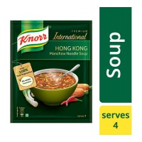KNORR INTERNATIONAL HONG KONG MANCHOW NOODLE SOUP 46.00 GM SACHET