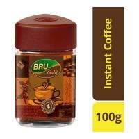 BRU GOLD COFFEE 100 GM JAR