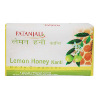 PATANJALI LEMON HONEY KANTI BODY CLEANSER 75.00 GM BAR