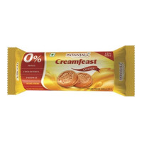 PATANJALI CREAMFEAST ORANGE BISCUIT 84 GM PACKET
