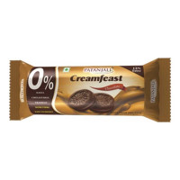 PATANJALI CREAMFEAST CHOCOLATE BISCUIT 84 GM PACKET