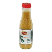 DEL MONTE GREEN CHILI SAUCE 190.00 GM BOTTLE